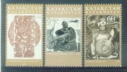 KZ 2003 Arts, KAZAKISTAN, 1 X 3v, MNH - Kasachstan