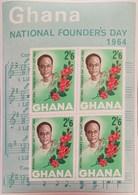 """Ghana 1964 National Founder""""s Day S/S - Ghana (1957-...)"""
