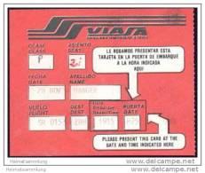Boarding Pass - Viasa - Venezolana Internacional De Aviacion SA - Bordkarten