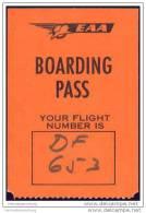 Boarding Pass - EAA - East African Airways - Bordkarten