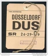 Baggage Strap Tag - Swissair - Aufklebschilder Und Gepäckbeschriftung