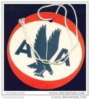 Baggage Strap Tag - AA American Airlines - Aufklebschilder Und Gepäckbeschriftung