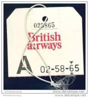 Baggage Strap Tag - British Airways - Aufklebschilder Und Gepäckbeschriftung