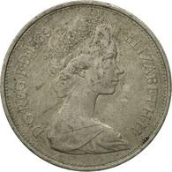 Monnaie, Grande-Bretagne, Elizabeth II, 10 New Pence, 1969, TB, Copper-nickel - 1971-… : Monnaies Décimales
