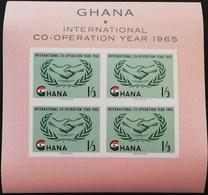 Ghana 1965 International Co-Operation Year S/S - Ghana (1957-...)