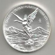 Messico, 1998, 1 Oncia Ag. Libertad. - Messico