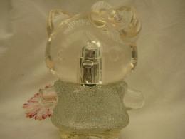 HELLO KITTY ; VAPO 50 ML  VIDE   STRASS IMPECCABLES  LIRE ET VOIR !! - Bottles (empty)