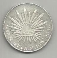 Messico, 8 Reales Culiacan 1892, Ag. Libertad. - Messico