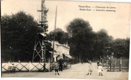 2 Oude Postkaarten  Mortsel Oude God   Lierse Steenweg  Uitg. Van De Walle  Antwerpse Stweg  Bogartz  Overweg - Mortsel