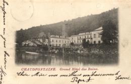 BELGIQUE - LIEGE - CHAUDFONTAINE - Grand Hôtel Des Bains. - Chaudfontaine