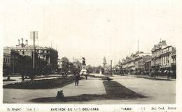 CHILE - CHILI Postcard, SANTIAGO, Avenida De Las Delicias - RPPC - Chili