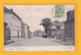 BELGIQUE - HAINAUT - MOUSCRON - MOESKROEN - DOTTIGNIES - Rue De Roubaix - Petite Animation - Mouscron - Moeskroen