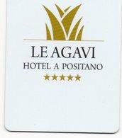 KEY CARD-ITALIA-LE AGAVI-HOTEL A POSITANO - Chiavi Elettroniche Di Alberghi