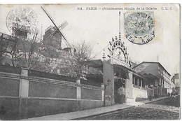 75 - PARIS  - Le Moulin De La Galette à Montmartre  N - Other Monuments