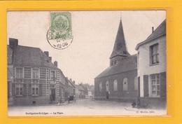 BELGIQUE - HAINAUT - MOUSCRON - MOESKROEN - DOTTIGNIES-SAINT-LEGER - La Place - Moeskroen