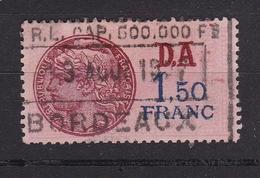 Timbre Fiscal N° 197° - Fiscaux