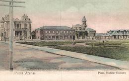 CHILE - CHILI Postcard, PUNTA ARENAS, Plaza Munoz Gamero - Chili