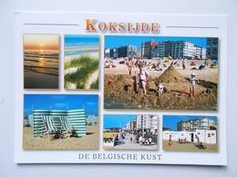 KOKSIJDE De Belgische Kust - Groeten Uit .....Bonjour De ... Greetings From ... Grüsse Aus ...  - NO REPRO - Koksijde