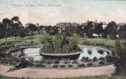Edinburgh Gardens, Fitzroy, Melbourne Victoria - Posted 1907 With Stamp - Melbourne