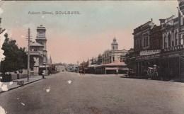 Auburn Street, Goulburn, NSW- Posted 1908 With Stamp - Australia
