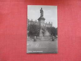 RPPC  Krakow  Pommik Mickiewicza  Poland    Ref 3030 - Poland