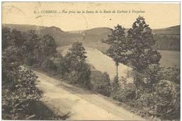 CORBION    VUE  PRISE  SUR  LA  SEMOY  DE  LA  ROUTE  DE  CORBION - Bouillon