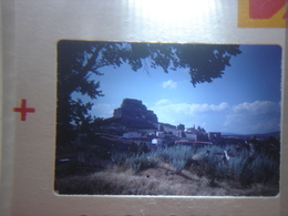 Ancienne Diapositive ESPAGNE Diapo Slide SPAIN Vintage Annees 60 - 70's Chateau Colline - Diapositives (slides)
