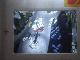 Ancienne Diapositive ESPAGNE Diapo Slide SPAIN Vintage Annees 60 - 70's Place Automobiles - Diapositives (slides)