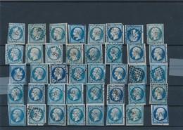 20 C Bleu X 40 Avec Défauts Mais Pc Lisibles. - 1853-1860 Napoléon III