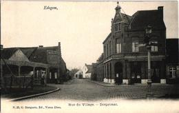 1 Oude Postkaart   EDEGEM   Edeghem   Dorpstraat  Uitg   .Bongartz  N°23     Café Restaurant Boulanger De Clerck - Edegem