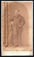 ROND 1870 - OUDE FOTO RIJKE FAMILIE OOSTENDE - BRUGGE ** JULES DE BONINGHE ° 1840 ** - Photos