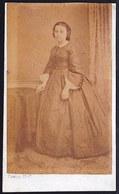 ROND 1870 - OUDE FOTO RIJKE FAMILIE OOSTENDE - BRUGGE ** CELINE DE BONINGHE ° 1843 ** - Photos