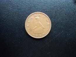 ZIMBABWE : 1 CENT  1995    KM 1a     SUP - Zimbabwe