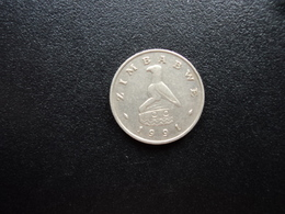 ZIMBABWE : 5 CENTS  1991    KM 2    SUP - Zimbabwe
