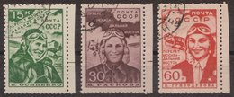Russia 1939 Mi 690-692 Used - 1923-1991 URSS
