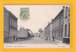 BELGIQUE - HAINAUT - MOUSCRON - MOESKROEN - DOTTIGNIES - Rue De Roubaix - Animation - Moeskroen