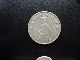 ZIMBABWE : 20 CENTS  1989    KM 4     SUP - Zimbabwe