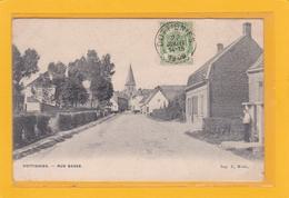 BELGIQUE - HAINAUT - MOUSCRON - MOESKROEN - DOTTIGNIES - Rue Basse - Mouscron - Moeskroen