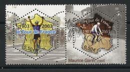 Centenaire Du Tour De France 2003 - YT 3582 & 3583  Se Tenant Neufs ** - Nuevos