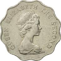 Monnaie, Hong Kong, Elizabeth II, 2 Dollars, 1984, TB+, Copper-nickel, KM:37 - Hong Kong