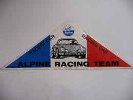 ALPINE RACING CAR - ALPINE RACING TEAM - Car Racing - F1