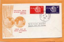Ireland 1963 FDC - FDC