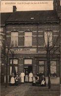 1 Oude Postkaart   EDEGEM  Edeghem   Café St. Joseph   Hovestraat     Uitg. Jacobs - Edegem