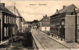 2 Oude Postkaarten      EDEGEM  Edeghem   Dorpstraat    1912 - Edegem