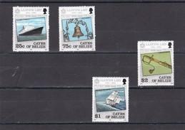 Cayes De Belice Nº 10 Al 13 - Belice (1973-...)