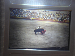 Ancienne Diapositive ESPAGNE Diapo Slide SPAIN Vintage Annees 70's CORRIDA 8 - Diapositives (slides)