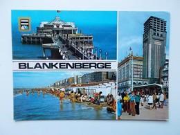 BLANKENBERGE - Groeten Uit ..un Bonjour De ......  - NO REPRO - Blankenberge