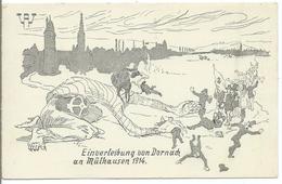 Einverleibung Von Dornach An Mûlhausen 1914 - Mulhouse