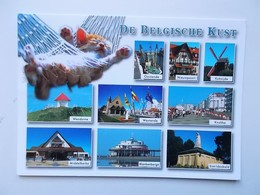 DE BELGISCHE KUST :Oostende, Nieuwpoort, Middelkerke, Knokke, Wenduine, Westende,.....  - NO REPRO - Belgique