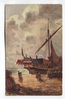 Untitled Boat Scene - (F.1001/3) - Postcards